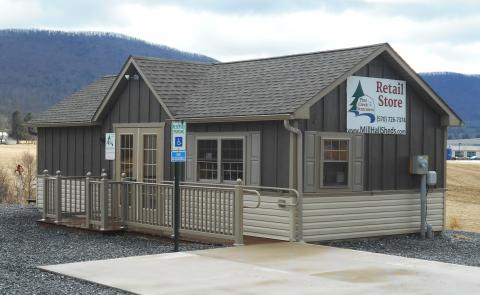 Pine Creek Structures of Mill Hall, PA retail store office