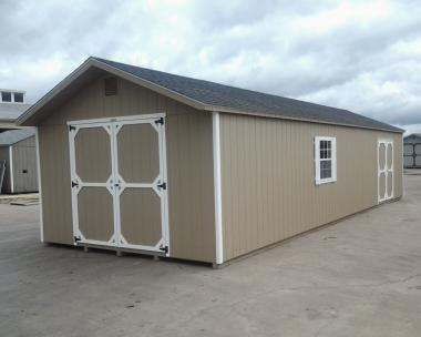 14x40 XL Front Entry Peak Shed in stock at Pine Creek Structures in Hegins (Spring Glen), PA