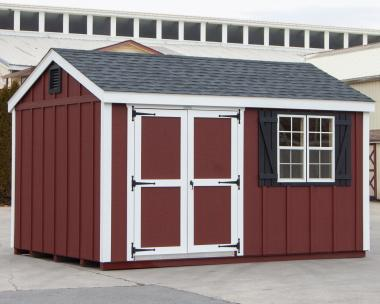 10x14 LP Board & Batten Peak Style Storage Shed for sale at Pine Creek Structures