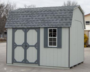 10x12 Gambrel Barn Style Storage Shed for sale at Pine Creek Structures
