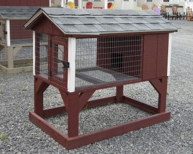 Rabbit and Small Animal Hutch from Pine Creek Structures